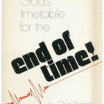 GODS TIMETABLE FOR THE END OF TIME